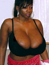 Amateur black housewives with gigantic..